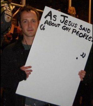 If Jesus was silent on the so-called ills of homosexuality, why isn ...