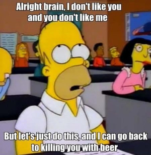 College Final Exams But unfortunately this was me
