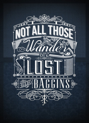 Tolkien Typography by jss743