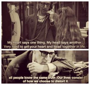 Meu coração diz uma coisa. Minha cabeça diz outra. É muito ...