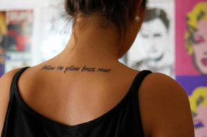Getting a tattoo doesn't just mean that you have an indelible mark ...