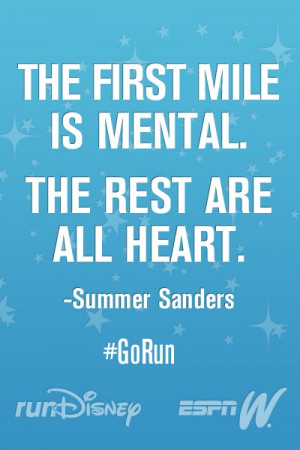 Marathon Secrets from Summer Sanders #GoRun