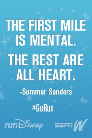 Marathon Secrets from Summer Sanders #GoRun