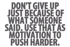 Frustration Quote and Motivation to Work Harder!