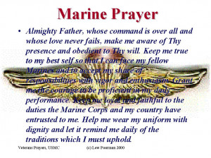 USMC Prayer