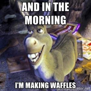 Shrek And Donkey Quotes Donkey shrek q