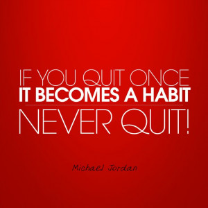 Never quit! #MichaelJordan #Quotes #InspirationTotes Quotes, Trey ...