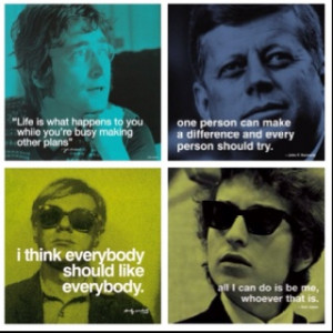 Quotes from cool people.