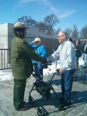 National World War II Memorial: Ted Notz dreamed of getting to see ...