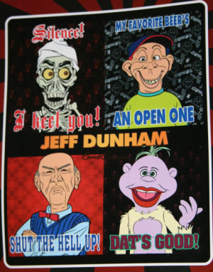Details about Ventriloquist Comic JEFF DUNHAM WALTER BUBBA ACHMED ...