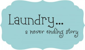 ... and it might make laundry a little more bearable. (highly doubtful