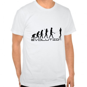 Hammer Throw Evolution ~ Track and Field T-shirts