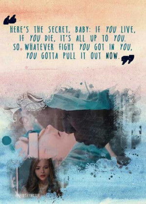 Favorite quote in if I stay!