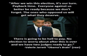 Valerie Jarrett: You, the American people, 'are hungry' for Obama ...