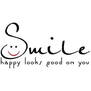 smile...happy looks good on you -