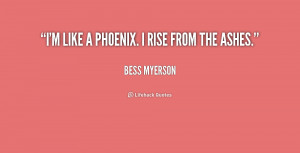Rise Like the Phoenix Quotes