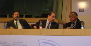 Il deputato europeo David Hammerstein Verdi Umberto Guidoni PdCI