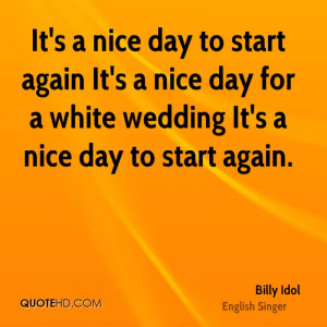 Billy Idol Quotes