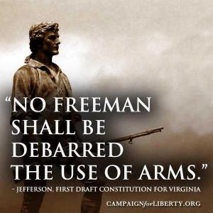 Thomas Jefferson quote on 2nd Amendment.