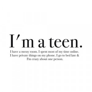 Teenage Girl Problems Quotes