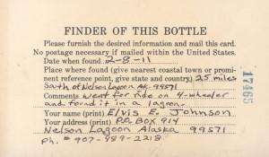 Found: World's Oldest Message in a Bottle, Part of 1914 Citizen ...