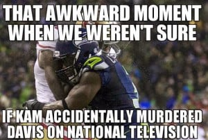 That Awkward moment when we weren't sure, if kam accidentally murdered ...
