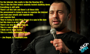 For the internet this really is like the roaring 20s Joe Rogan 950x567