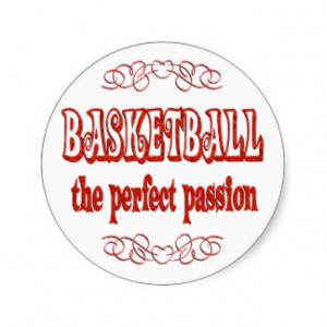 Basketball Passion Sticker