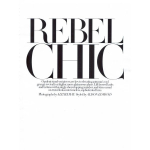 "modelcouture: Jeisa Chiminazzo""Rebel Chic"" Ph: Alexei liked on ..."