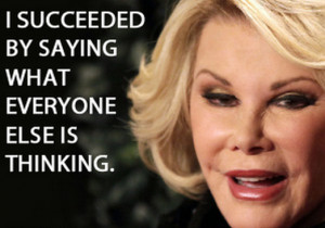 Wonderfully Heartwarming Joan Rivers Quotes