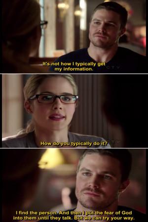 Arrow Season 1 Quote-7