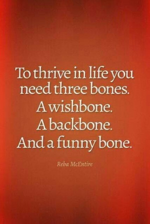 Three Bones - Reba McEntire