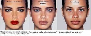 No Makeup Look