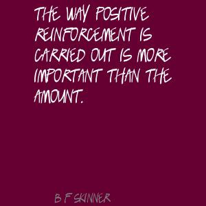 Reinforcement quote #2