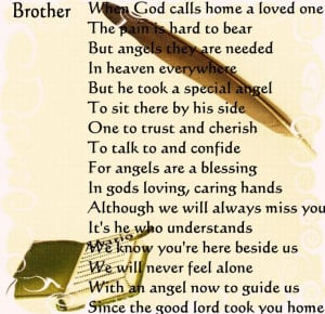 memory quotes child | Brother Memorial Poems by EdgardoMemories Quotes ...