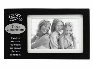 ... Three Generations Verses Plaque, 4 by 6 – Three Generations Frame