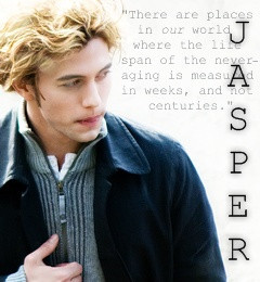 jasper hale born jasper whitlock is the adopted son of carlisle and ...