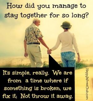 if your marriage is broken, don't throw it away. Fix it