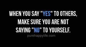 saying no quotes