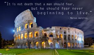 Marcus Aurelius Death Quotes