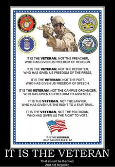 Veteran+Blank-Check+Quote | That is Honor, and there are way too many ...