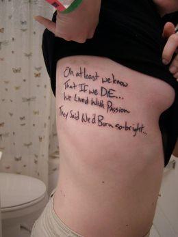 Sayings Tattoo - Greek Philosophy