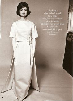 Jackie Kennedy, one of the classic beauties of my time. First Ladies ...