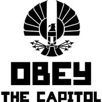 ... Movie Quote T-Shirts > Hunger Games Shirts > Obey The Capitol Shirt