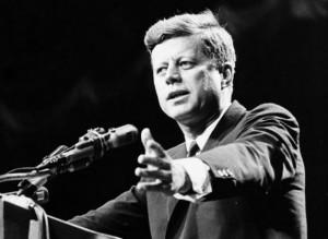 President John F. Kennedy had a