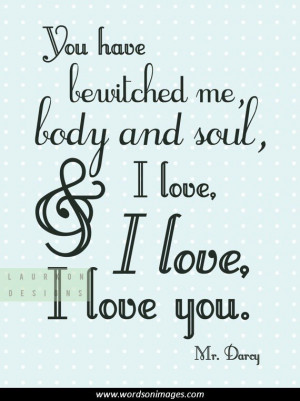 Literary quotes on love