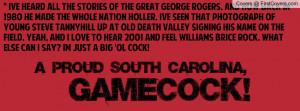 South Carolina Gamecock Facebook Covers