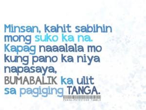 Tagalogquotes Pinoy Pinoyquotes Banat Love Lovequotes Typos