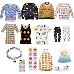 emoji girl outfit