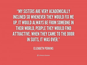 Elizabeth Perkins Quotes
